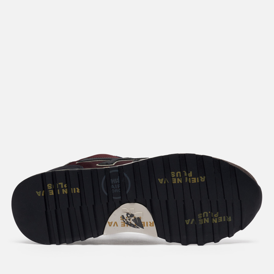 Мужские кроссовки Premiata Mick 5359 Bordeaux/Black
