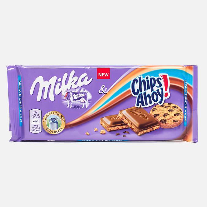 Шоколад Milka & Chips Ahoy 100g
