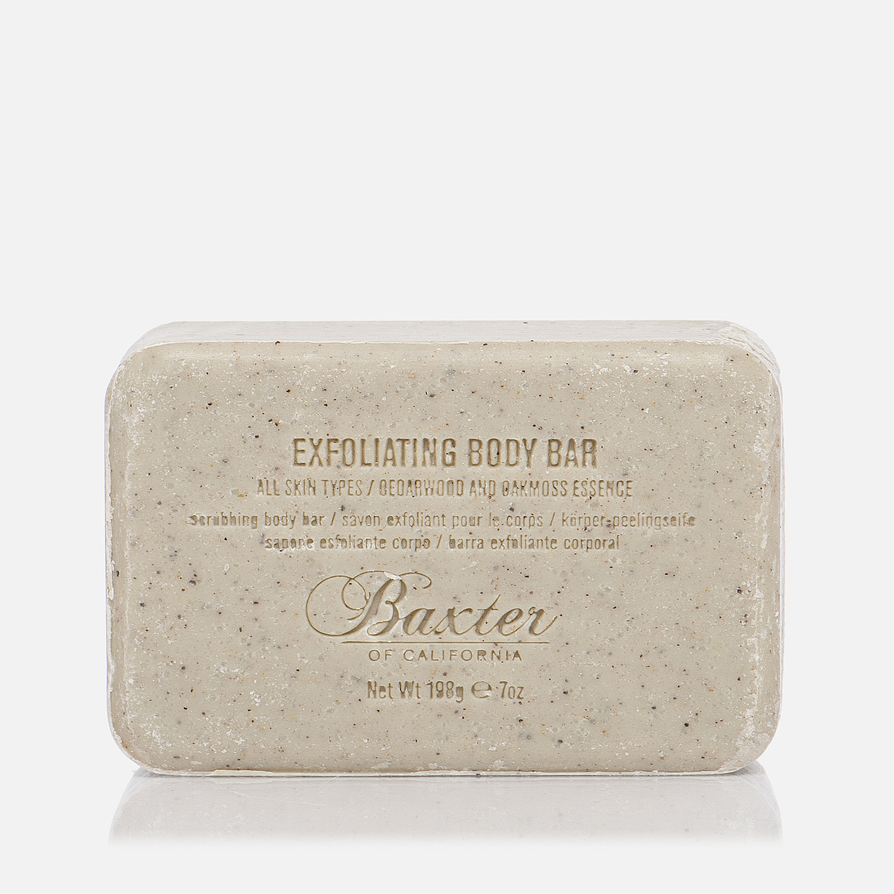 Мыло-скраб Baxter of California Exfoliating Body Bar 198g