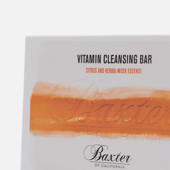Мыло Baxter of California Vitamin Cleansing Citrus/Herbal Musk 198g