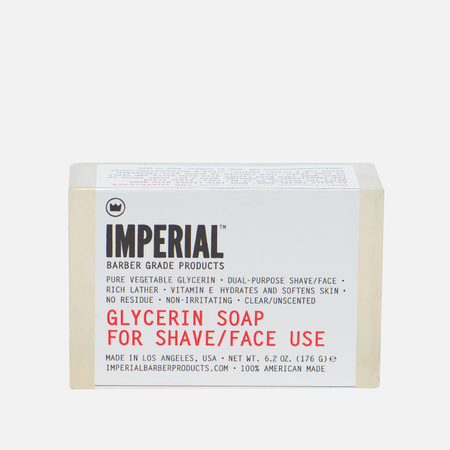 Мыло Imperial Barber Glycerin For Shave/Face 176g