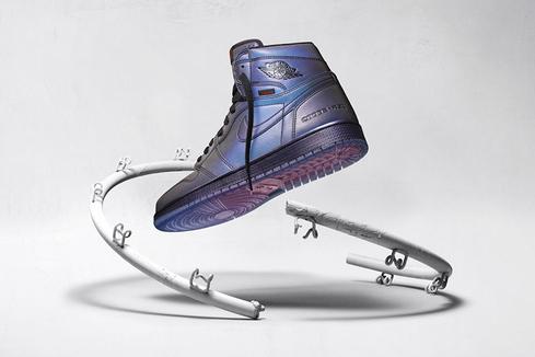 Air Jordan 1 High Zoom Fearless: игра цветов