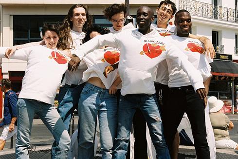 Helmut Lang × PZ Opassuksatit: парижская любовь