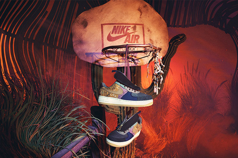 "Nike × Travis Scott Air Force 1 ""Cactus Jack"": техасские корни"