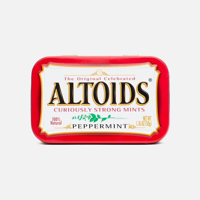 Леденцы Altoids Peppermint Curiosly Strong