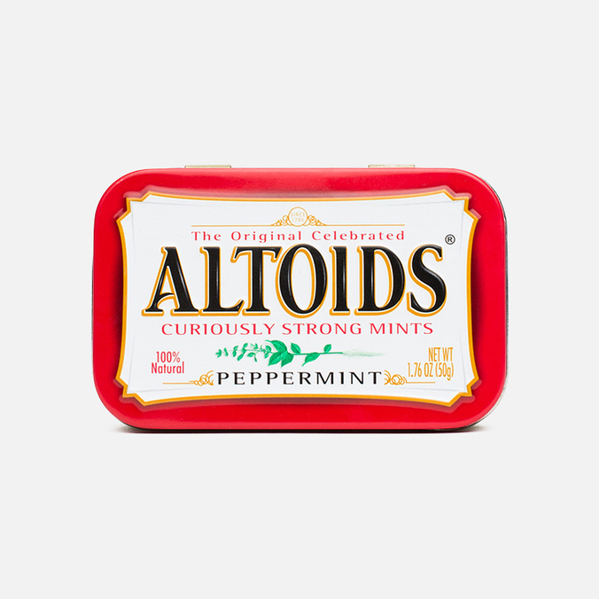 Леденцы Altoids Peppermint Curiosly Strong