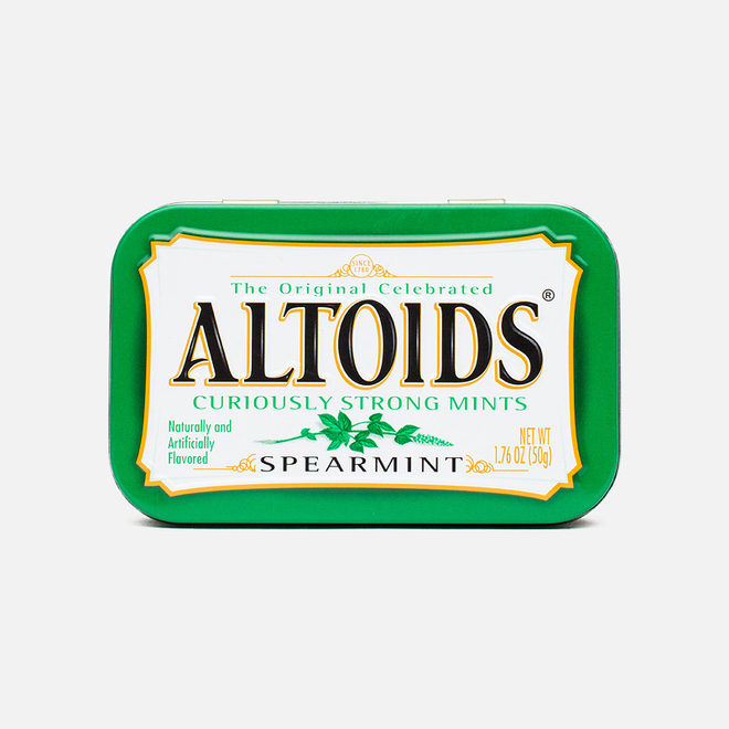 Леденцы Altoids Spearmint Curiosly Strong