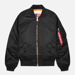 Мужская куртка бомбер Alpha Industries MA-1 Blood Chit Black