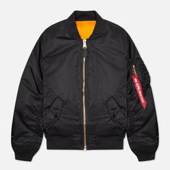 Мужская куртка бомбер Alpha Industries MA-1 Slim Fit Black