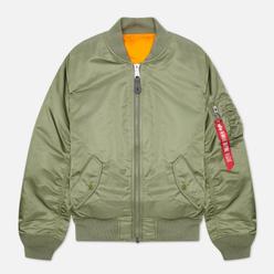 Мужская куртка бомбер Alpha Industries MA-1 Slim Fit Sage
