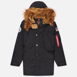 Мужская куртка парка Alpha Industries N-3B Alpine Black