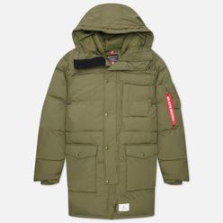 Мужская куртка парка Alpha Industries N-3B Quilted Dark Green