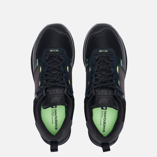 Мужские кроссовки New Balance ML574IDC Black/Black/Black
