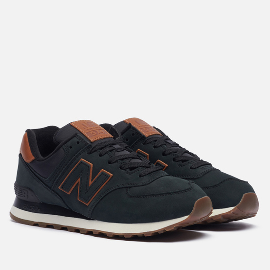 Мужские кроссовки New Balance ML574NBI Dark Green