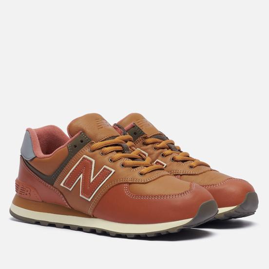 Мужские кроссовки New Balance ML574OMA Brown