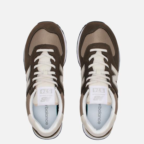 Мужские кроссовки New Balance ML574SHP Black Olive/Mushroom