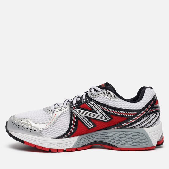 Мужские кроссовки New Balance 860v2 White/Red
