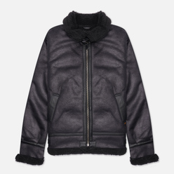 Мужская куртка Alpha Industries B-3 Sherpa Mod Black