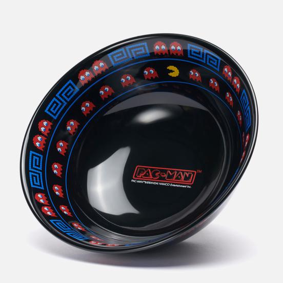 Тарелка Medicom Toy Pac-Man Ramen Black