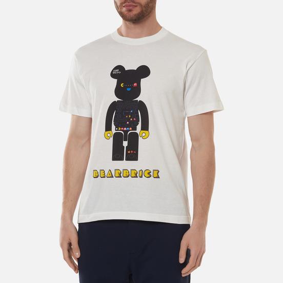 Мужская футболка Medicom Toy Pac-Man Be@rbrick White