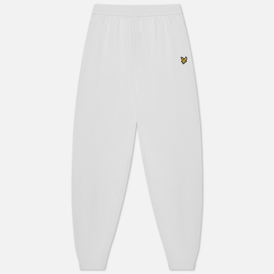 Женские брюки Lyle & Scott Nylon Track Regular Fit White