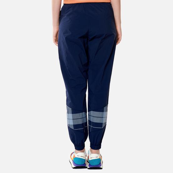 Женские брюки Lyle & Scott Check Panel Track Ink Blue