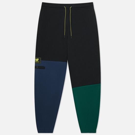 Мужские брюки New Balance Athletics Higher Learning Fleece Navy/Black/Green