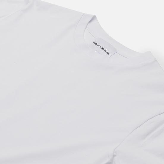 Мужской лонгслив MKI Miyuki-Zoku Relaxed Basic White