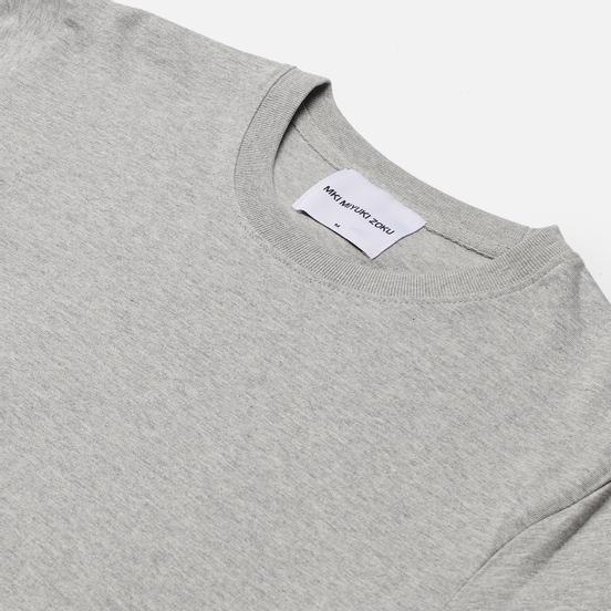 Мужская футболка MKI Miyuki-Zoku Relaxed Basic Grey