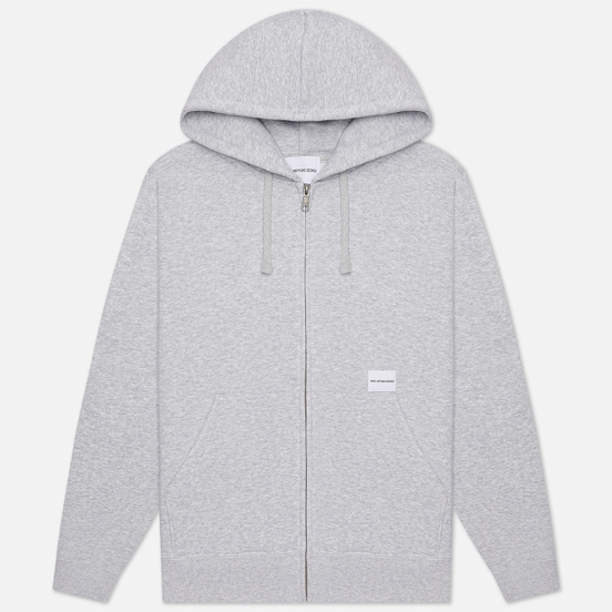 Мужская толстовка MKI Miyuki-Zoku Relaxed Basic Zip Hoody Grey