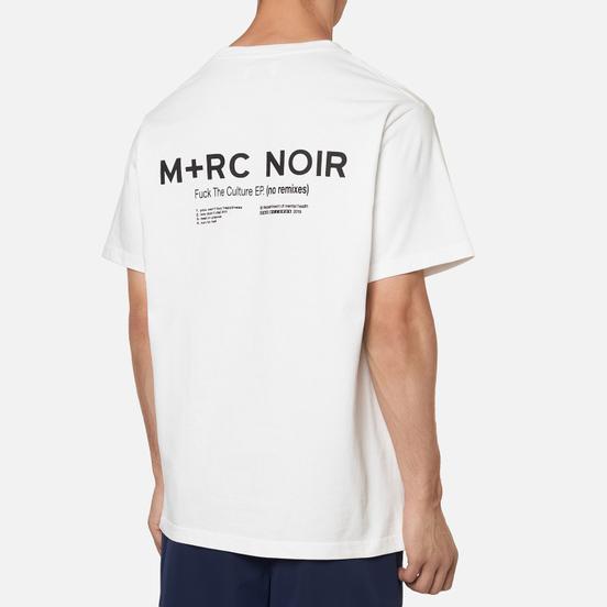 Мужская футболка M+RC Noir Vynil White