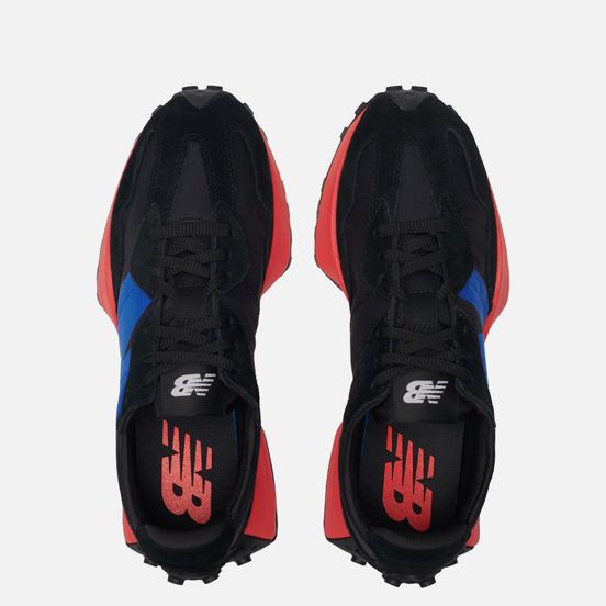 Мужские кроссовки New Balance 327 Core+ Black/Navy/Red