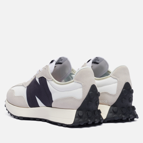 Мужские кроссовки New Balance MS327FE White/Grey/Black