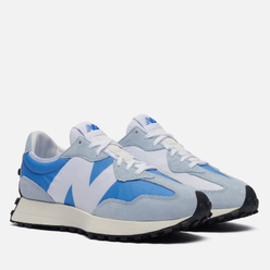 Мужские кроссовки New Balance 327 Light Blue/White