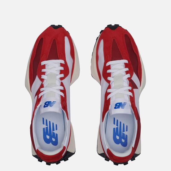 Мужские кроссовки New Balance 327 Scarlet/Team Red