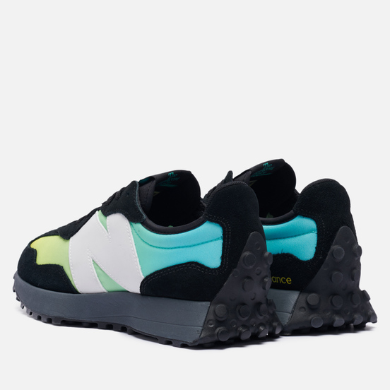 Мужские кроссовки New Balance MS327SA Summer Jade Black/Summer Jade
