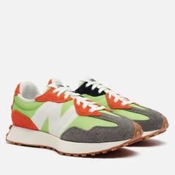 Мужские кроссовки New Balance MS327SFA Summer Bright Lime Green/Red/Grey