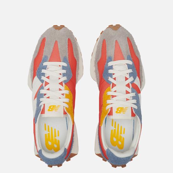 Мужские кроссовки New Balance MS327SFC Summer Bright Red/Navy/Grey