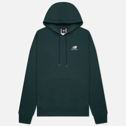 Мужская толстовка New Balance Essentials Embroidered Hoodie Green