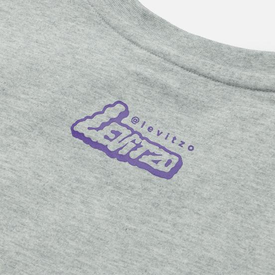 Мужская футболка New Balance Athletics Artist Levitzo 1 Athletic Grey