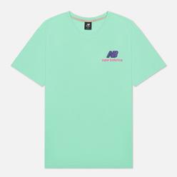 Мужская футболка New Balance Athletics Clash Graphic Agave Green