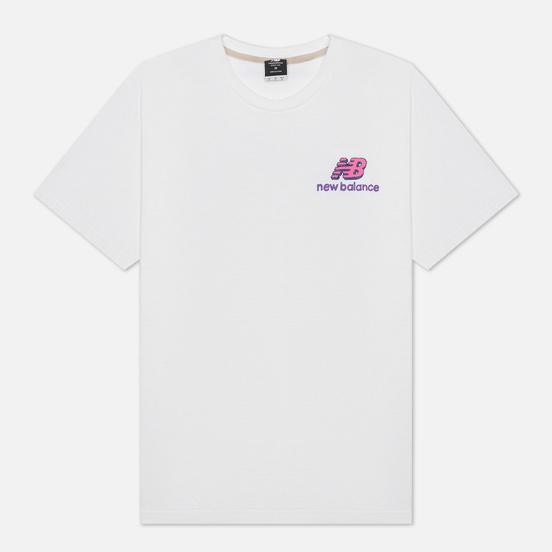Мужская футболка New Balance Athletics Clash Graphic White
