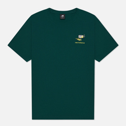 Мужская футболка New Balance Athletics Minimize Nightwatch Green