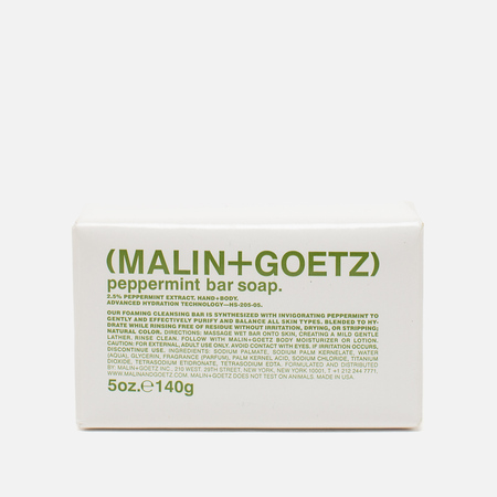 Мыло Malin+Goetz Peppermint Bar 140g
