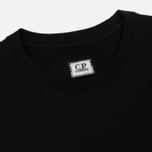 Мужская футболка C.P. Company Goggle Hood Back Print Caviar фото- 1