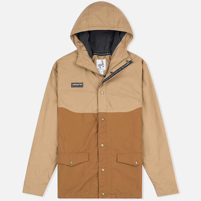 Мужская демисезонная куртка adidas Originals x Spezial ETA Anorak Hemp/Timber