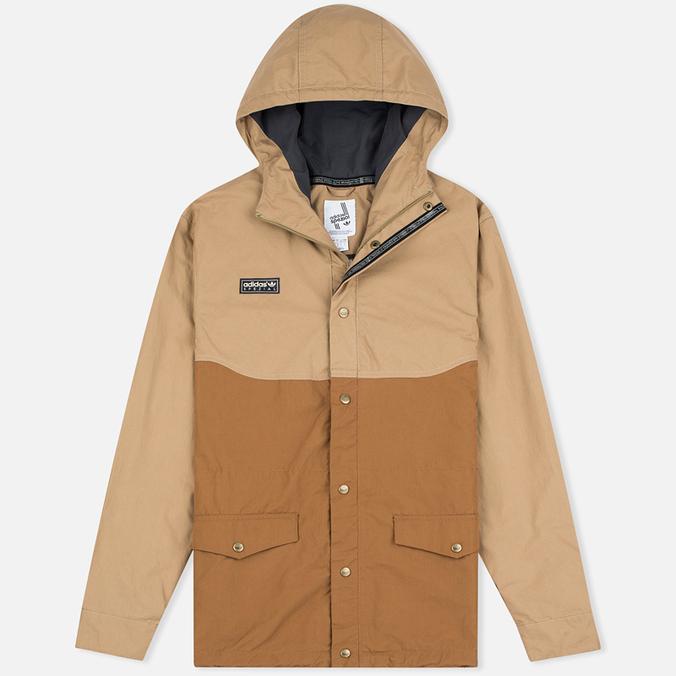 Мужская демисезонная куртка adidas Originals x Spezial ETA Anorak Hemp/Timber