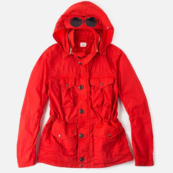Мужская демисезонная куртка C.P. Company Giacca Chrome Red