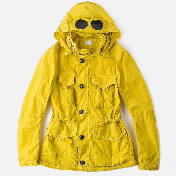 C.P. Company Giacca Chrome Men's Jacket Yellow