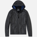 C.P. Company Giacca Sfoderata Lino Men's Jacket Black photo- 0
